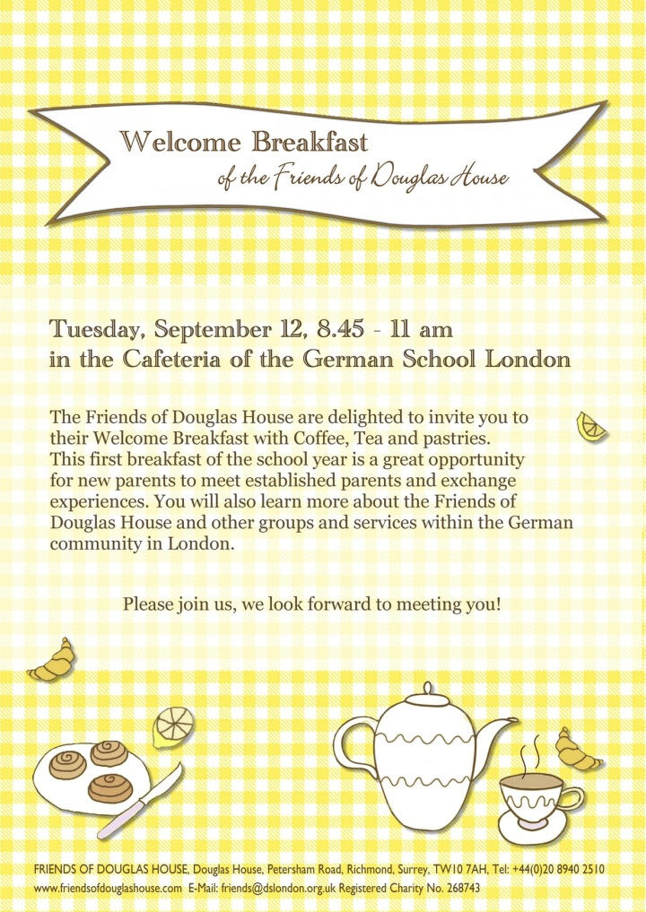 Welcome Breakfast 2017